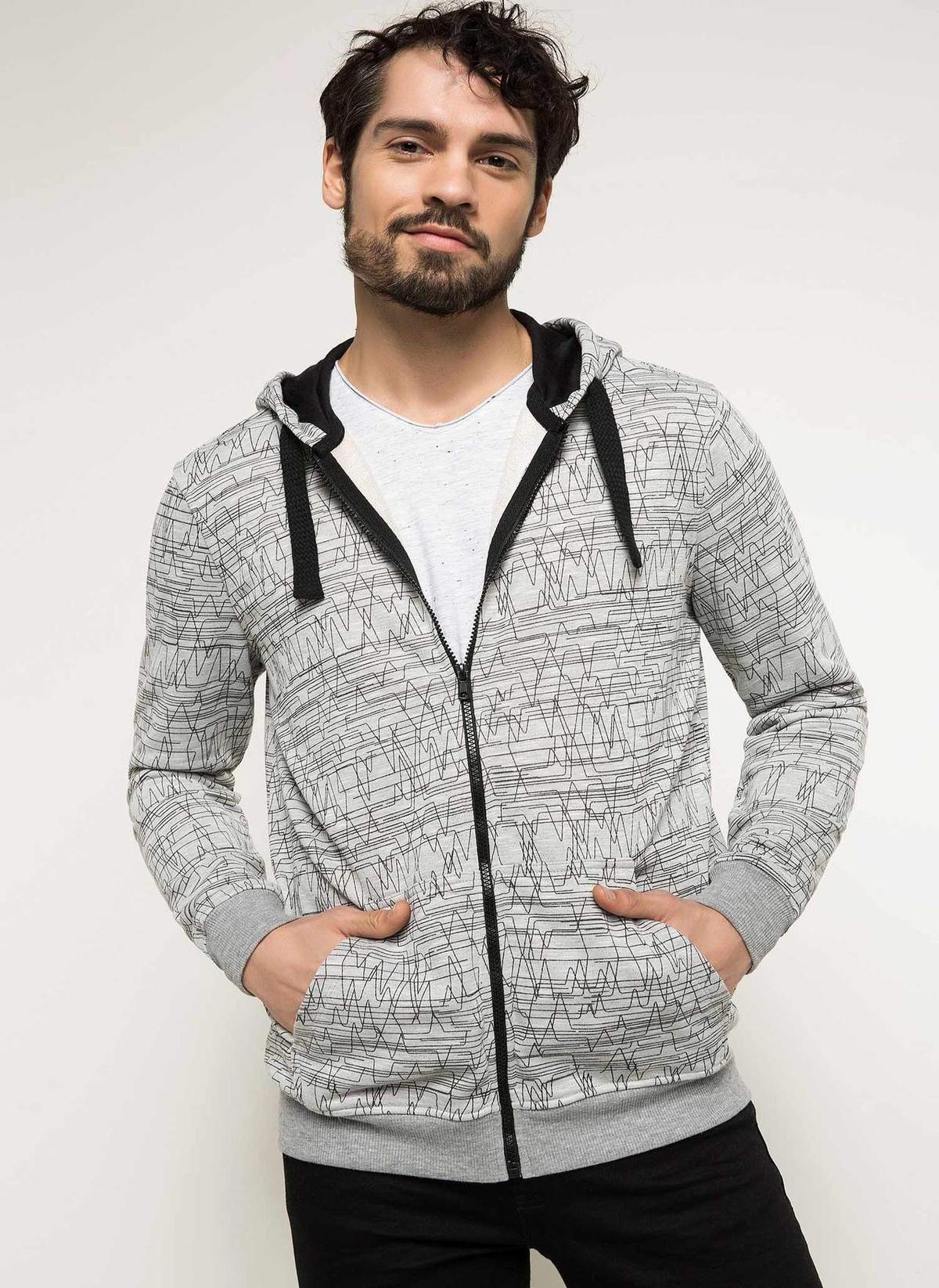 Defacto Hırka Sweatshirt G9107az18spgr210 Hırka – 49.99 TL